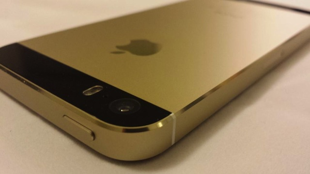 iPhone 5s Genuine Black Gold04