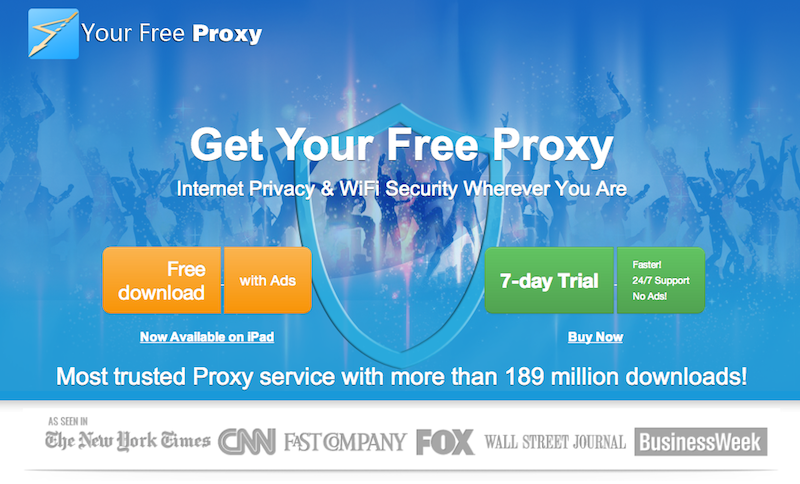 YourFreeProxy